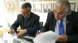 Firma acuerdo de intención para colaboración con el Instituto Nacional de Salud Mental en el campo de la investigación científica, docencia y desarrollo de los derechos humanos