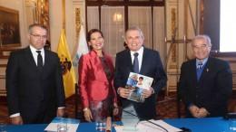 Presidenta Ejecutiva Virginia Baffigo, encabezó ceremonia por el 80 Aniversario del Seguro Social en la Municipalidad de Lima, donde se resaltó los avances a favor de asegurados.