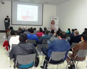 ESPECIALISTAS ASISTIERON AL CURSO DE COLPOSCOPÍA ORGANIZADO POR LA SOCIEDAD PERUANA DE OBSTETRICIA Y GINECOLOGÌA.